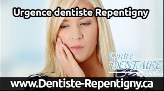 Urgence dentiste à Repentigny. Orthodontie, dentisterie esthétique, prothèse implant dentaire. Clinique dentaire Rive-Nord à Repentigny. Mal de dent, carie, détartrage, plombage, dents de sagesses